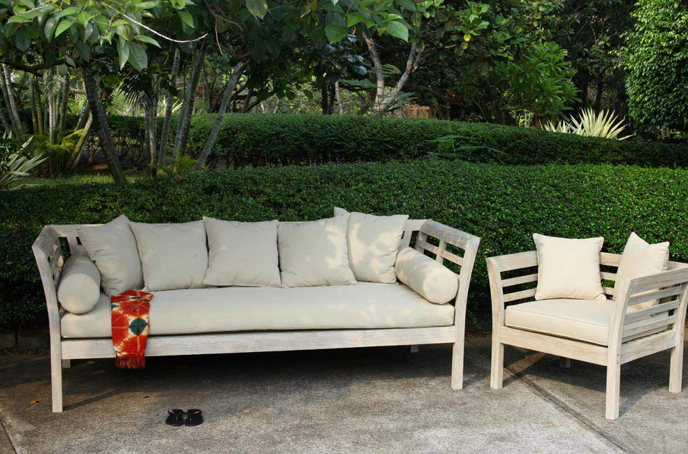 rustic white wash teak furniture outdoor collection Wholesale Sydney Australia